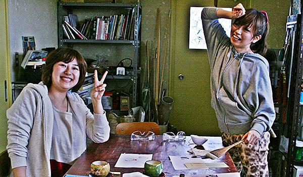 沖縄星砂ガラス製作体験の手順