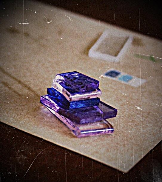 レディーたちの星砂ガラス製作体験①