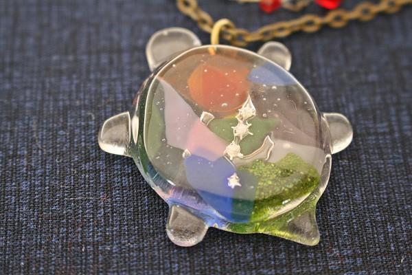 ジンベイザメと化石を作りたいです。 沖縄 恩納村 ガラス体験