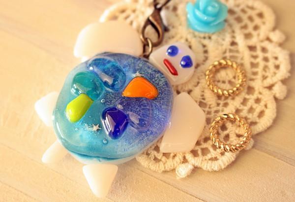 自分のイメージしたものがしっかりできた琉球ガラス星砂体験