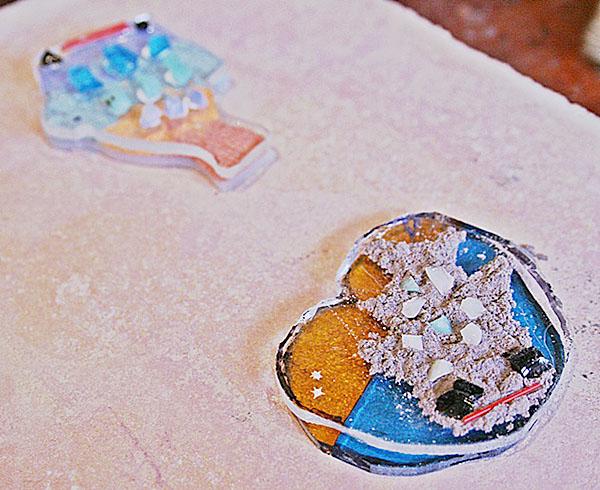 恩納村ガラス体験 星砂体験