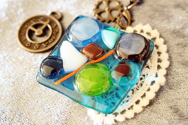 沖縄ガラス体験 キッズ体験