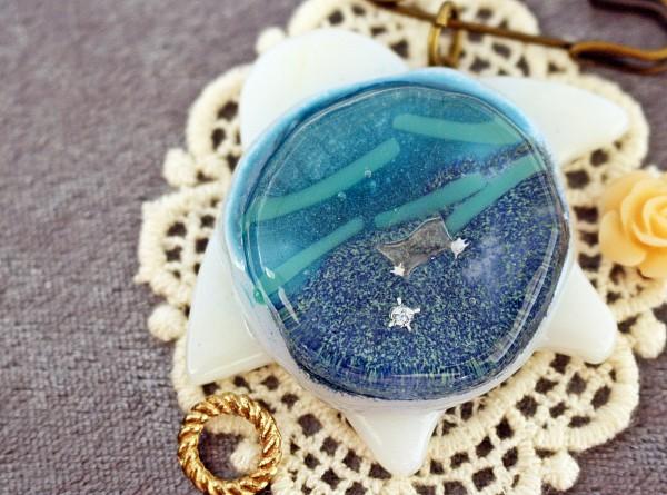 子供に自分で作る琉球ガラスの作品を作ってもらいたい(評価、感想)|琉球ガラス星砂体験