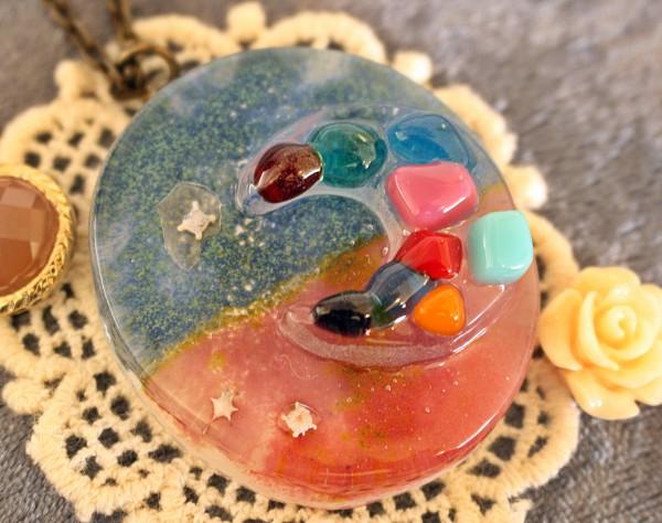 もの作りがとても楽しいと思える体験でした|(評価、感想)沖縄ガラス星砂体験