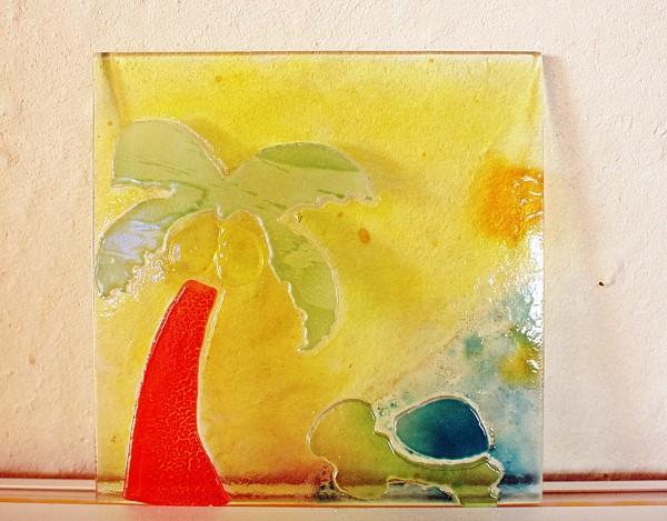 自分の好みのデザインができる|琉球ガラスウエディング体験